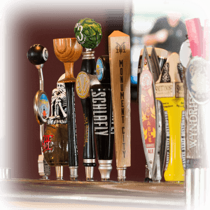 Adams Grille and Taphouse Edgwater taps