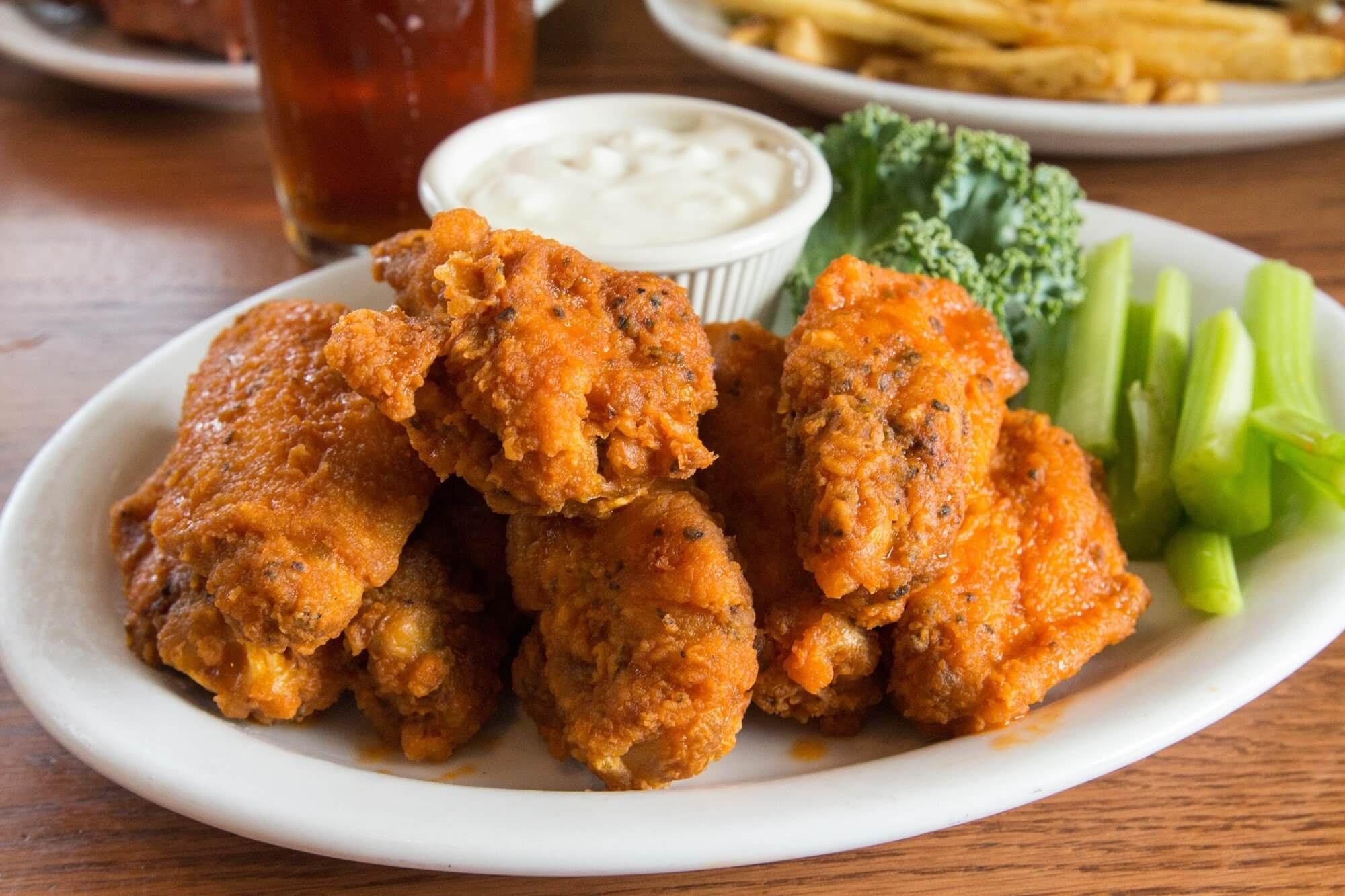Adams Taphouse and Grille Edgewater Wings